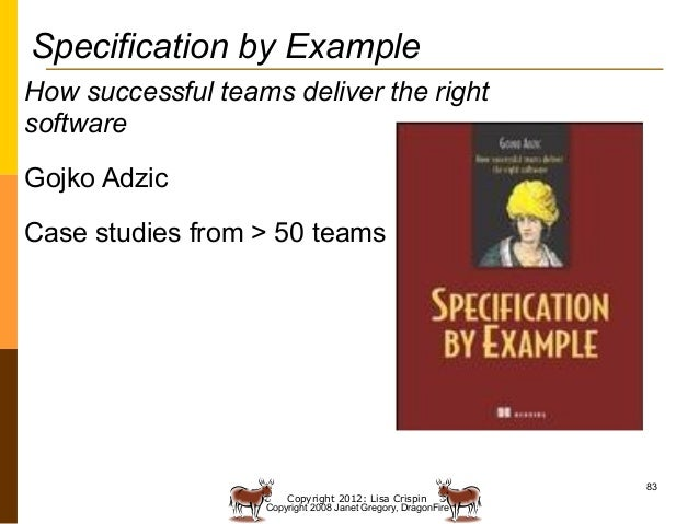 specification by example gojko adzic
