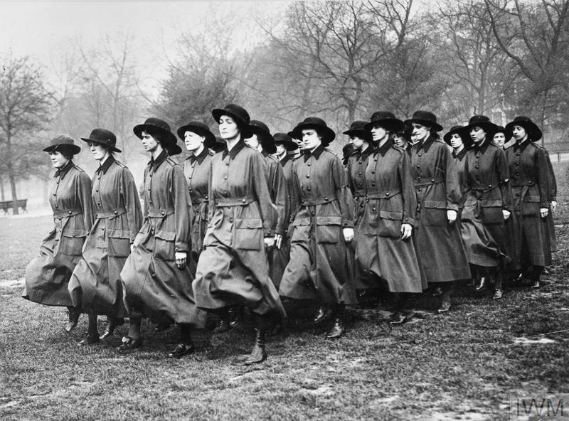 example of women who at war front