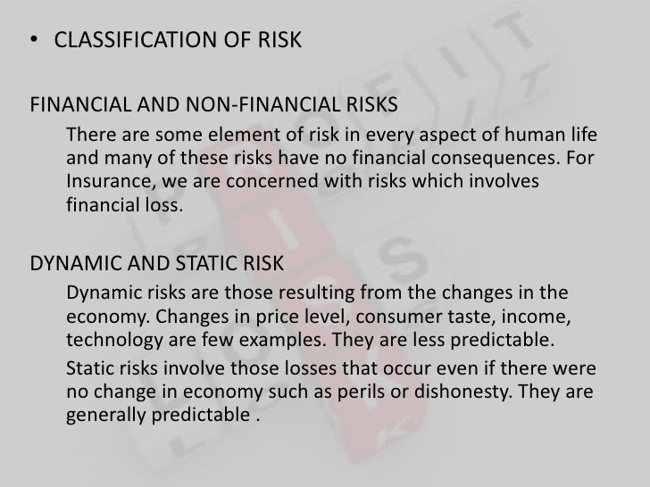 purchasing insurance is an example of risk ___________