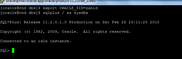 sql create pfile pfile location from spfile example