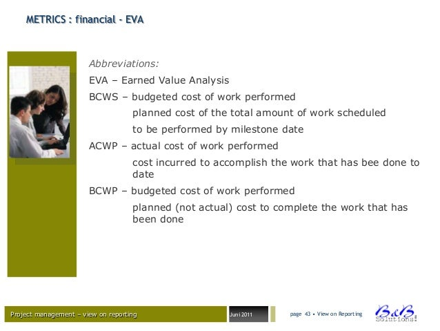 budgeted cost of work schedule example