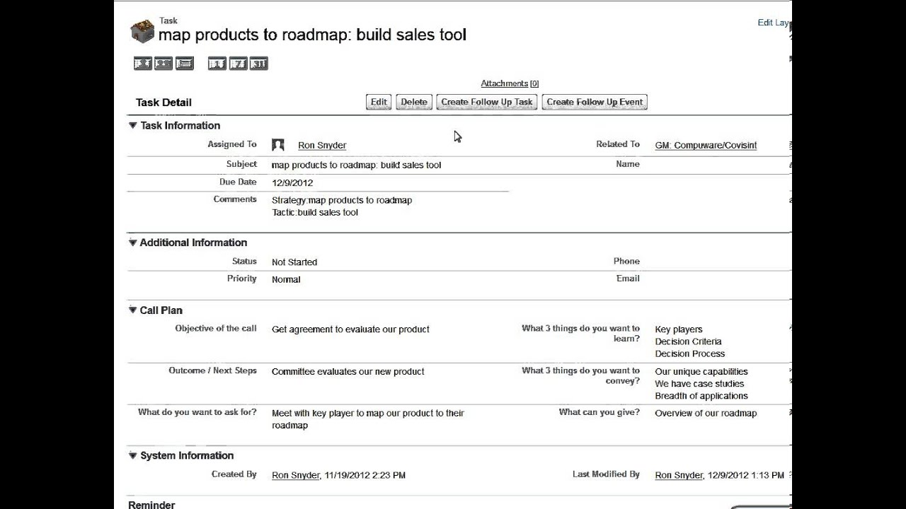 example of sales plan template