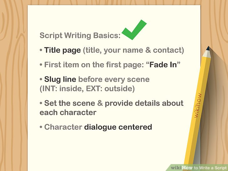 how to write a monologue example