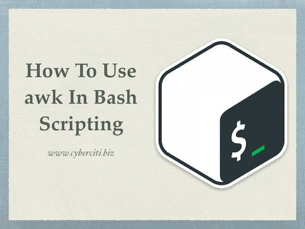 linux bash shell script example