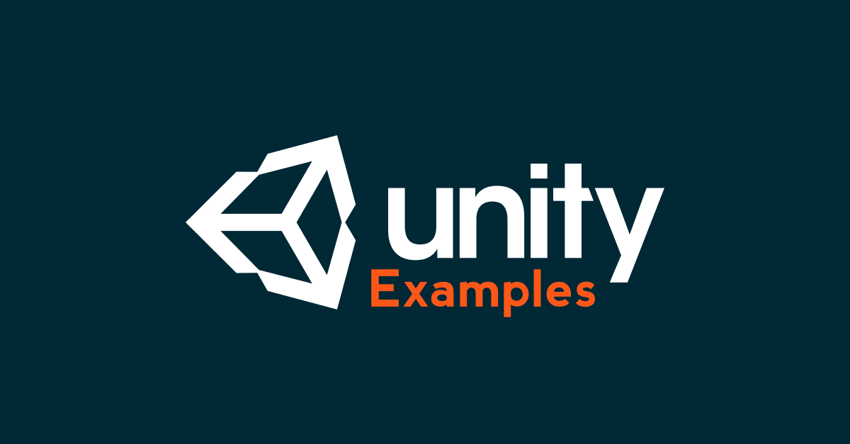 what is an example of unity