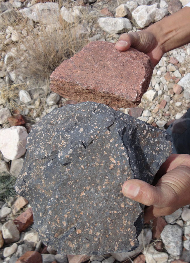 rhyolite is an example of a