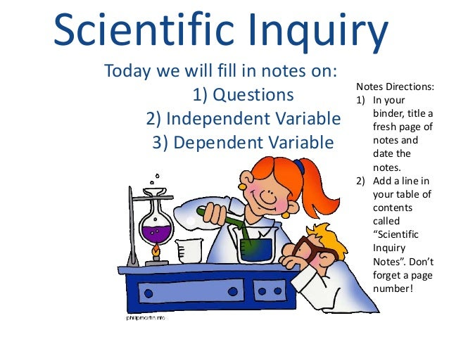 example of a scientific powerpoint presentation