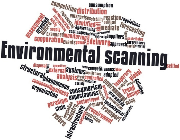 what is the purpose of environmental scanning give an example