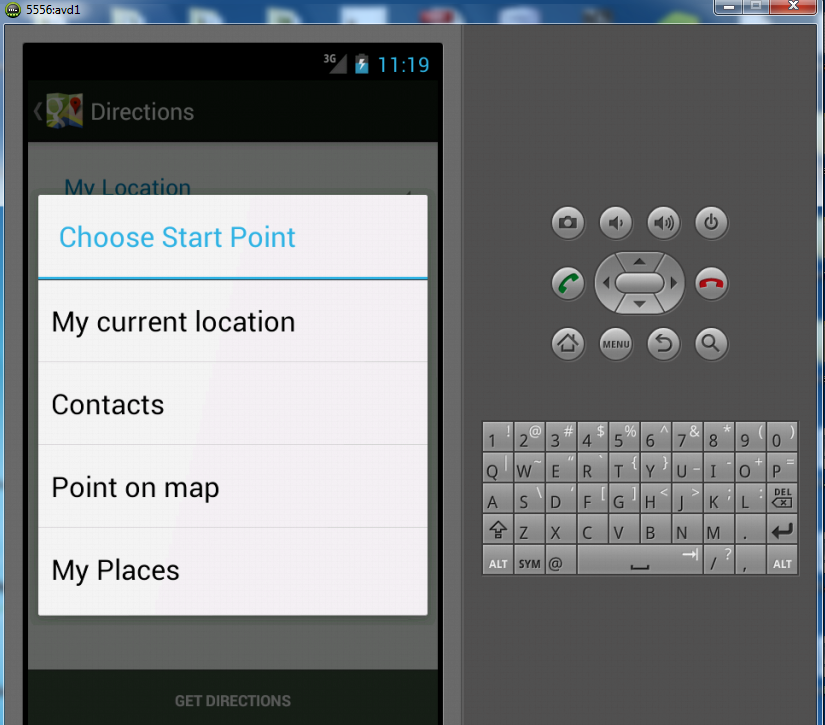 android gps background service example java