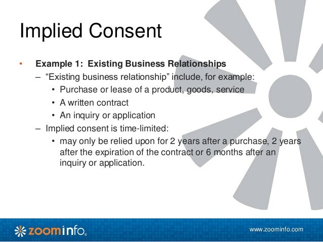 casl express consent paper form example
