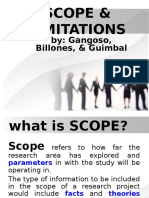 example of scope in research paper
