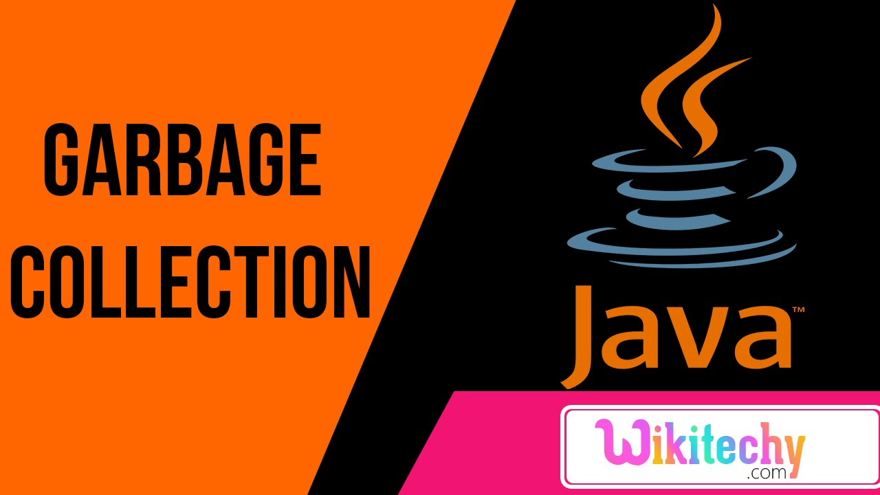 garbage collection in java with example