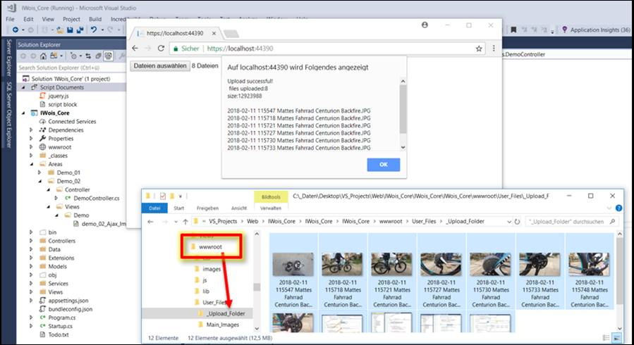 jquery file upload example in asp net
