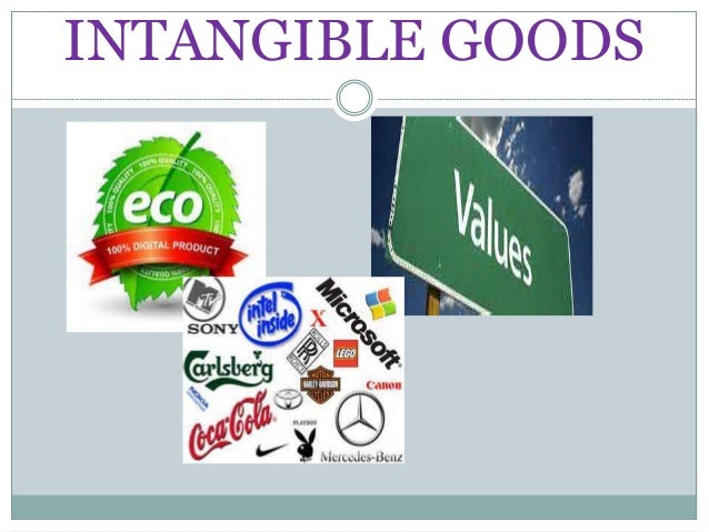 what is an example of an intangible product