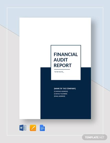 example clinical trial audit final report
