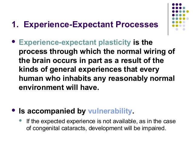 example of dependent expectant plasticity