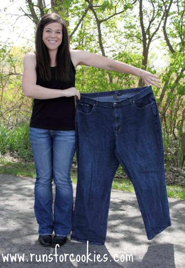 example of person losing weight