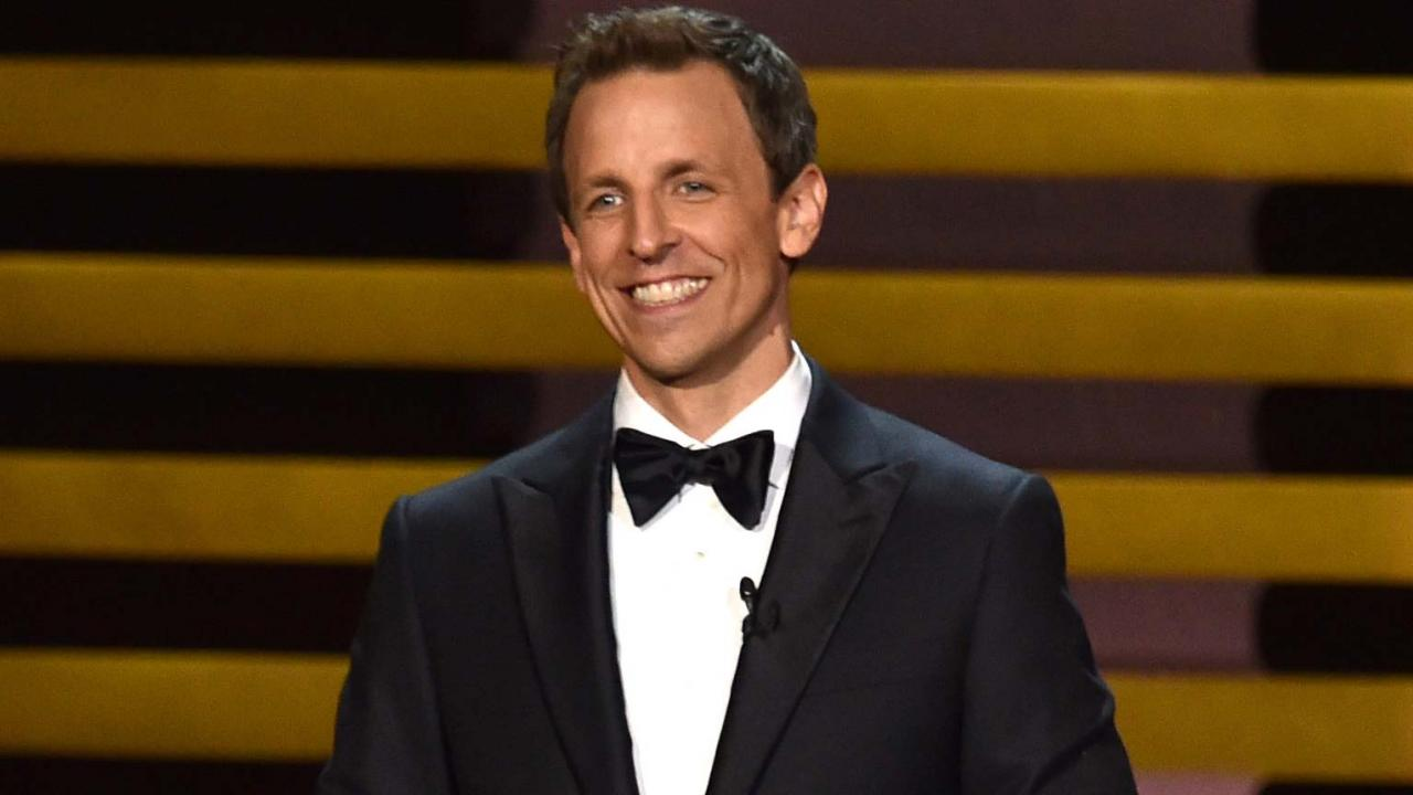 example of wit in seth meyers
