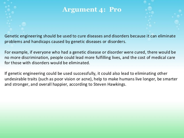 genetic disorder brochure project example