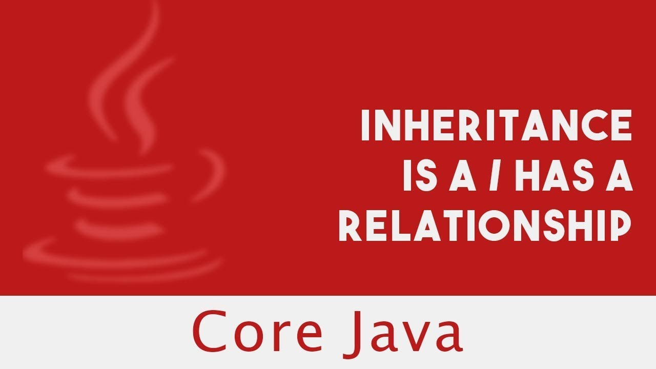 java is a has a relationship example