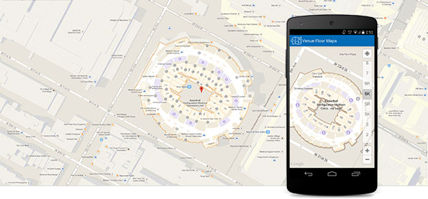 mobile app site map example