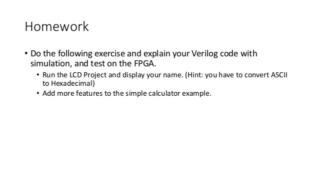 verilog tutorial learn by example