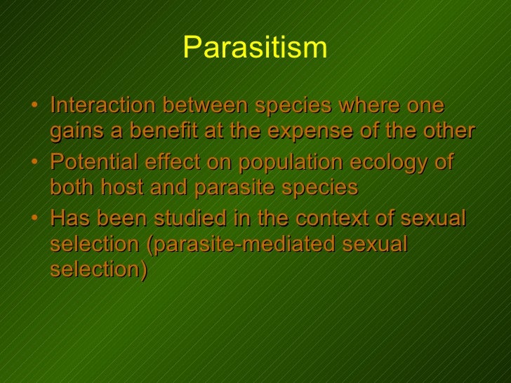 what is an example of intersexual selection