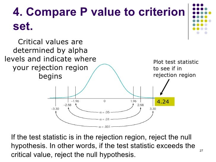 what is p value in statistics with example
